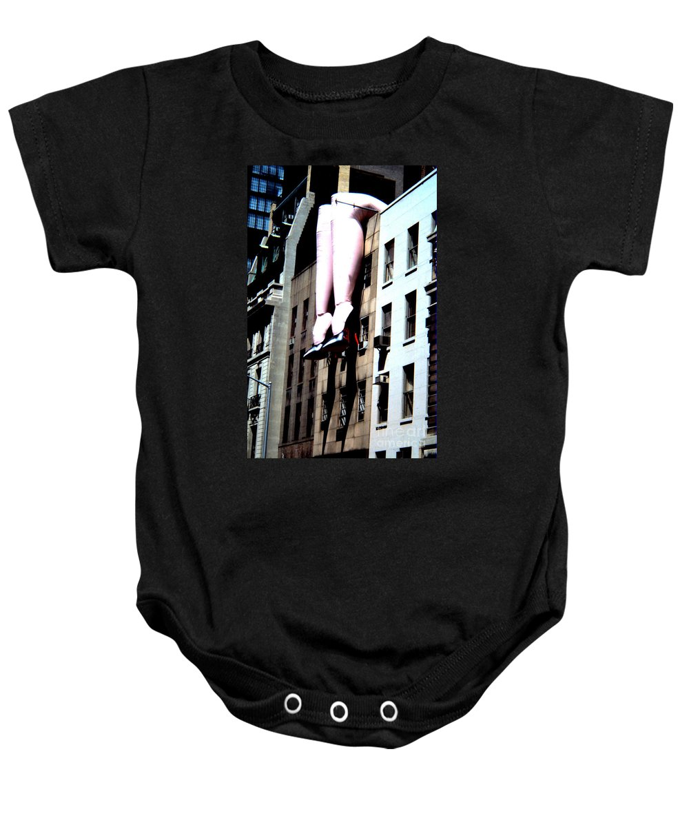 New York City Baby Onesie featuring the photograph Legs by John Greco
