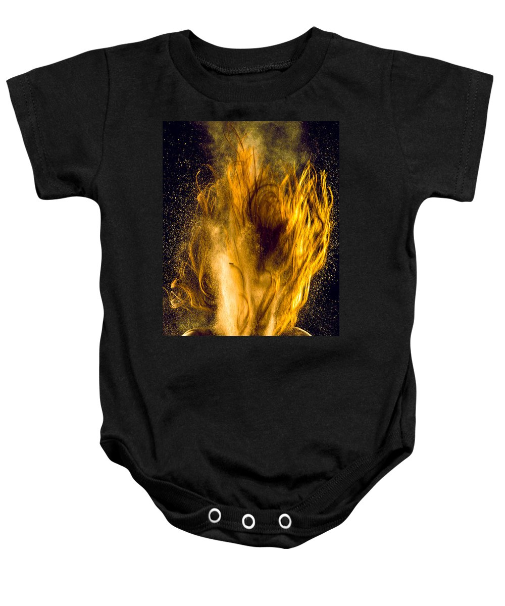 Arizona Baby Onesie featuring the photograph Let It Go by CEB Imagery