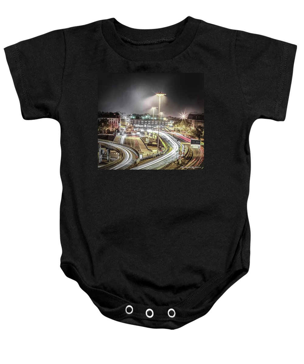 Landscape Baby Onesie featuring the photograph Light Moves by Stwayne Keubrick