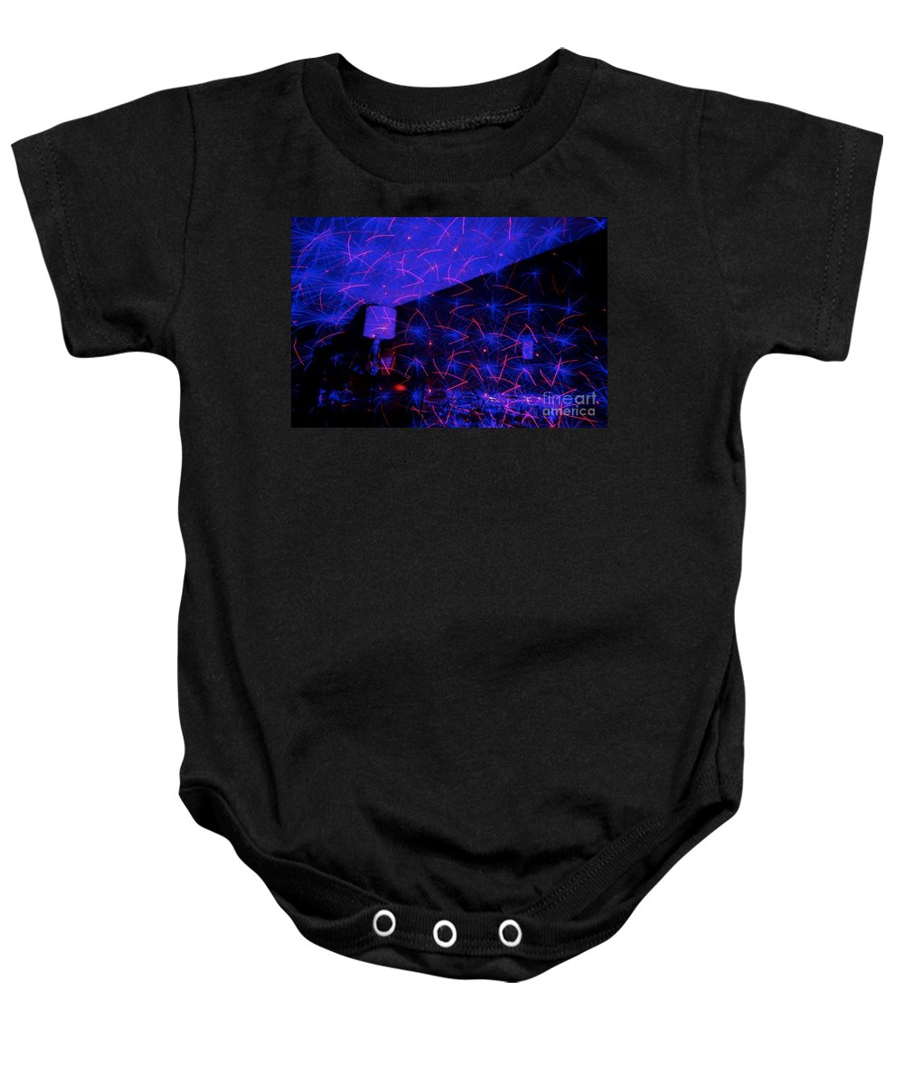 Light Baby Onesie featuring the photograph Light Work 17 by Jacqueline Athmann