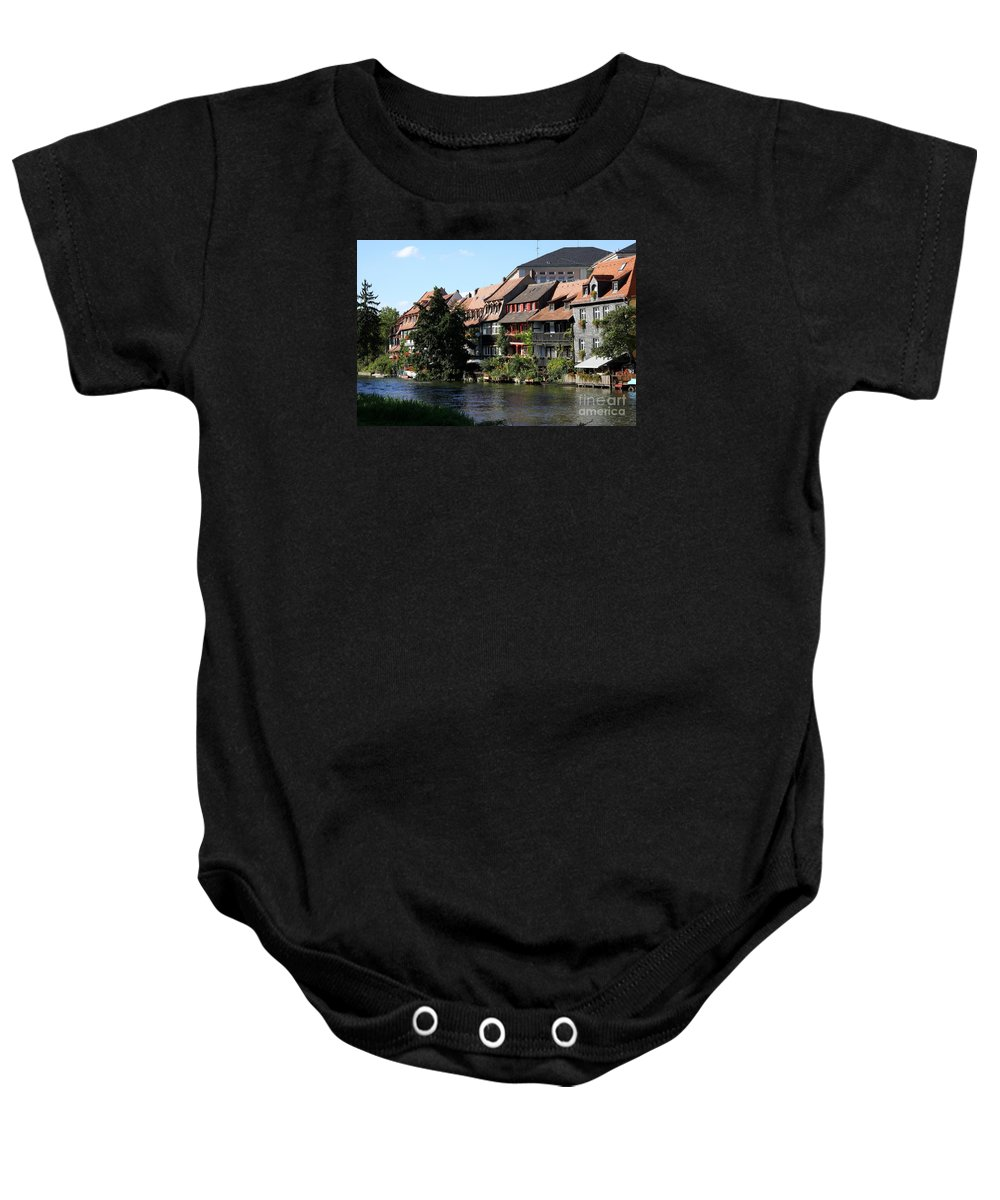 Little Venice Baby Onesie featuring the photograph Little Venice - Bamberg - Germany by Christiane Schulze Art And Photography