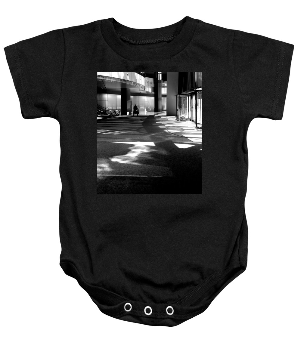 Baby Onesie featuring the photograph Lobby Of The Bow by David Pantuso