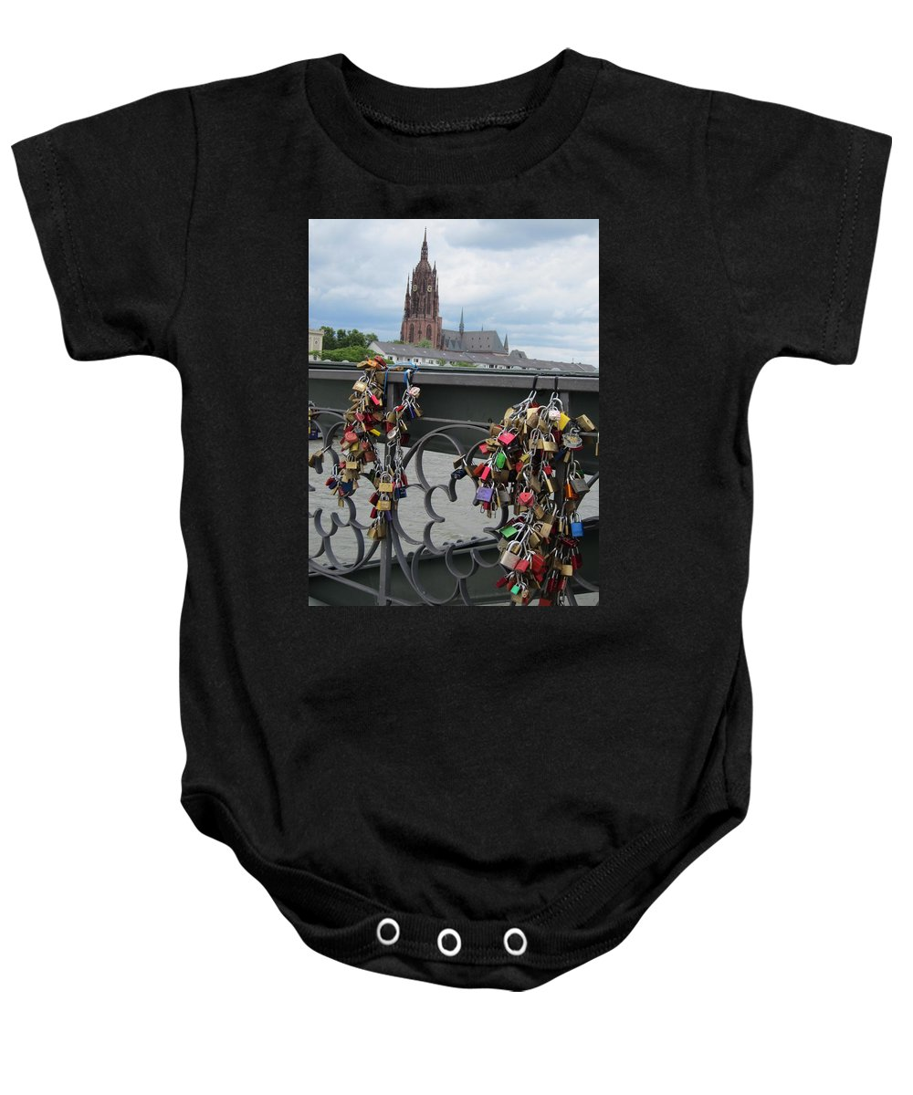 Lock Baby Onesie featuring the photograph Locks Of Love 2 by Pema Hou