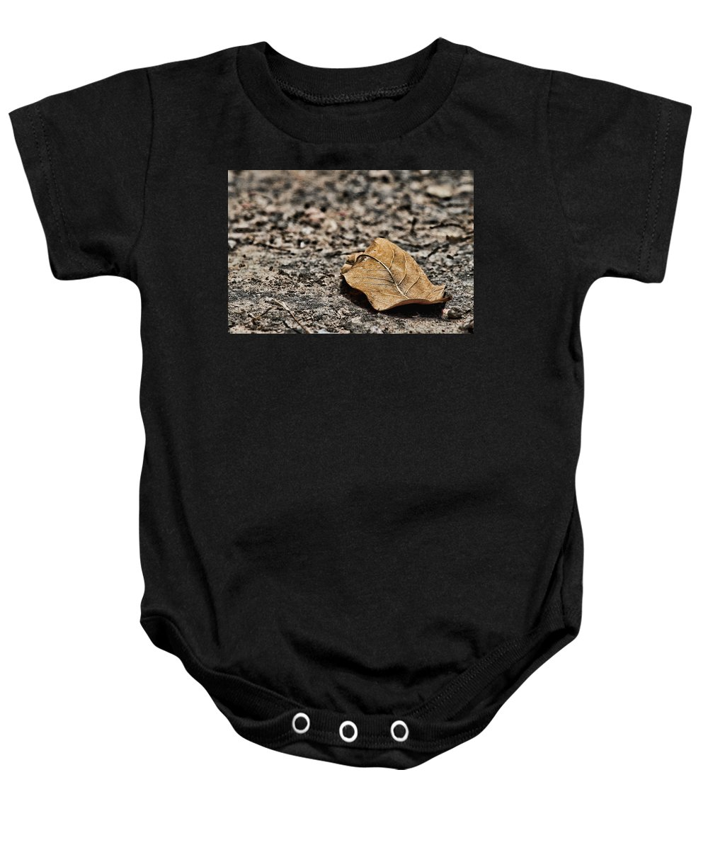 Loneliness Baby Onesie featuring the photograph Loneliness by Agustin Uzarraga