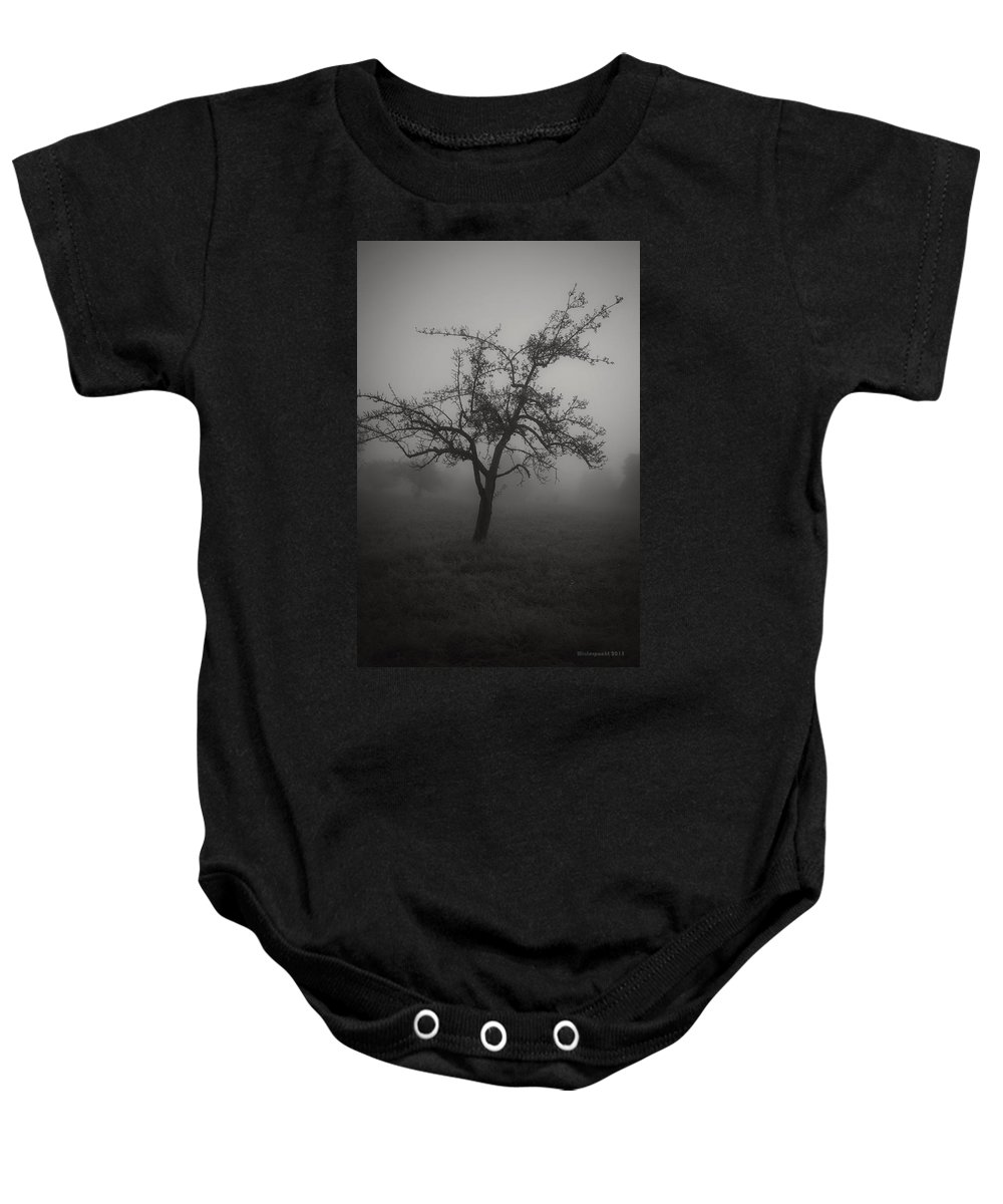 Fog Baby Onesie featuring the photograph Lost In The Fog by Miguel Winterpacht