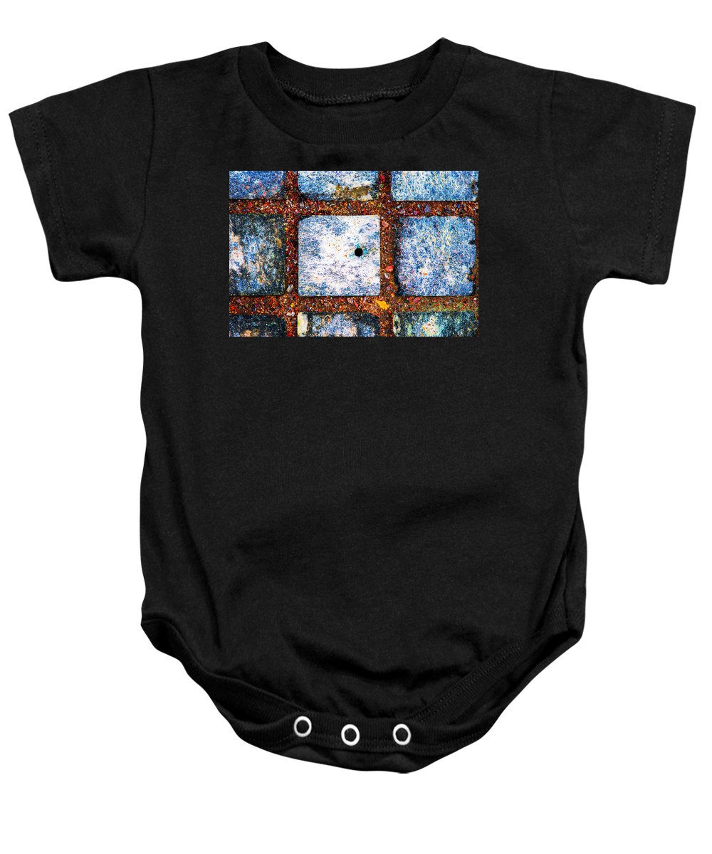 Abstract Baby Onesie featuring the photograph Lot Number 6 Of The Universe by Alexander Senin