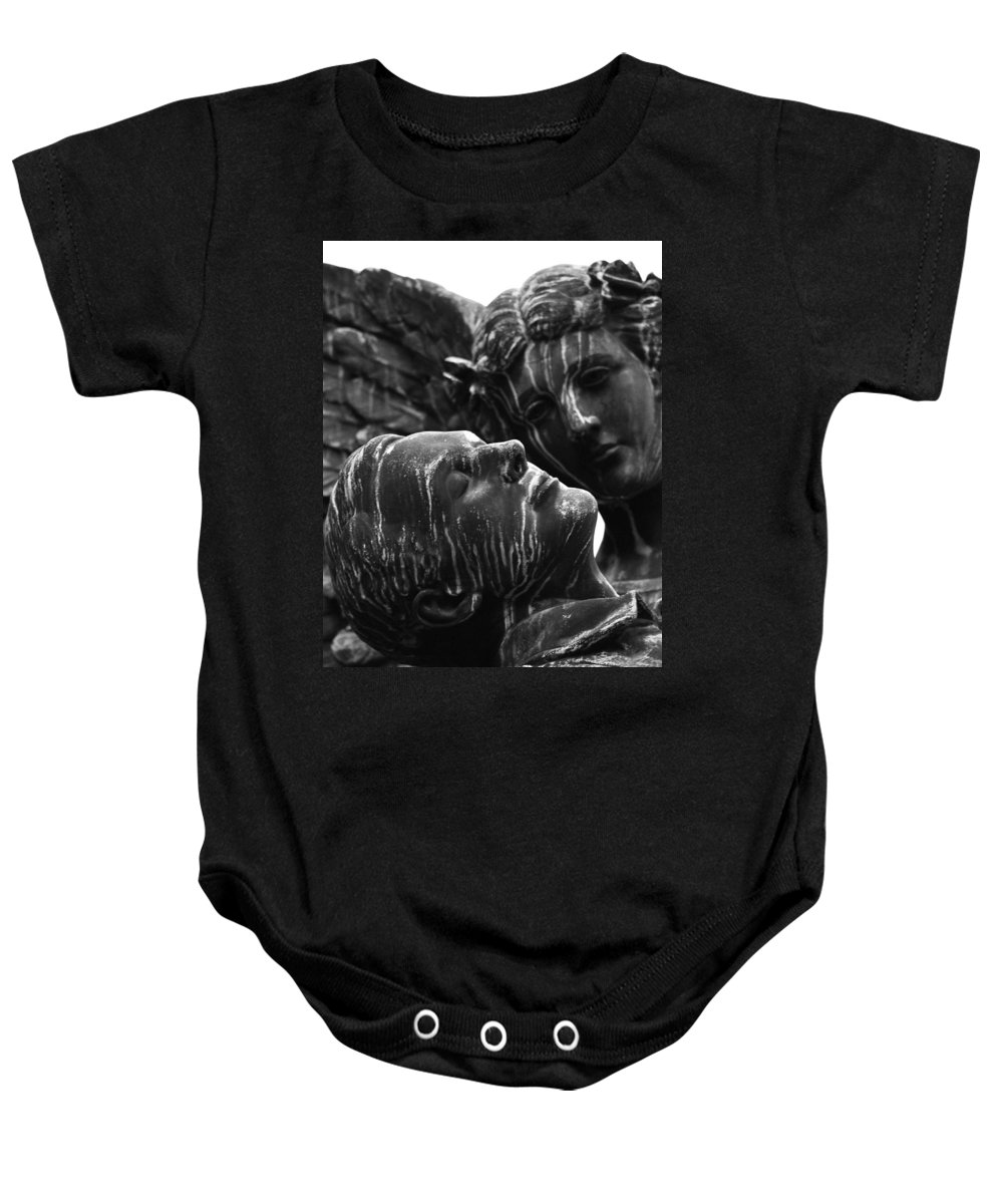 Street Photography Baby Onesie featuring the photograph Love Me While I Sleep by The Artist Project