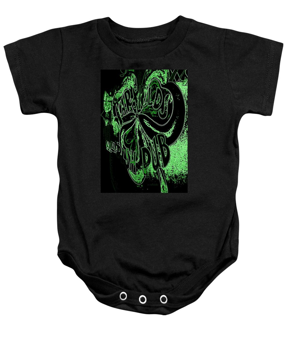 Marfields Baby Onesie featuring the photograph Marfields by Chris Berry