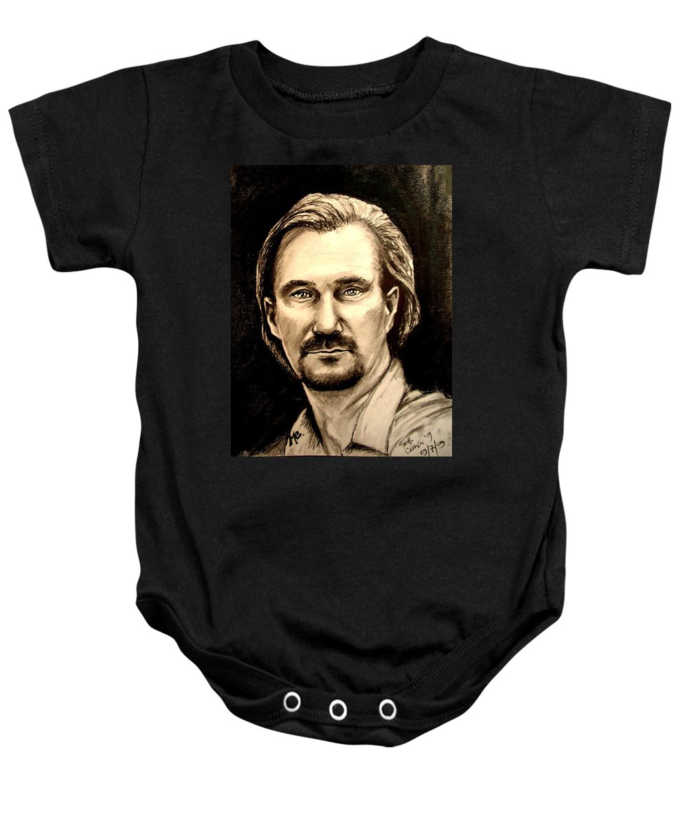 Marcello Cicchini Baby Onesie featuring the digital art Me by Marcello Cicchini