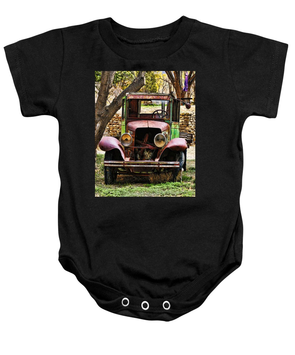 Truck Baby Onesie featuring the photograph Memories by Terry Fiala