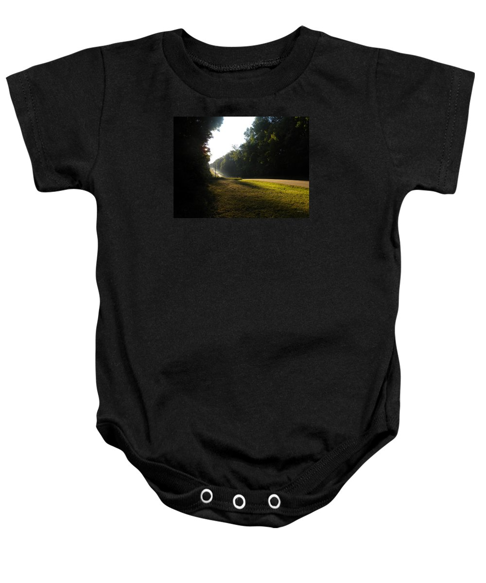 Michigan Baby Onesie featuring the photograph Michigan Sunrise 03 by Thomas Woolworth