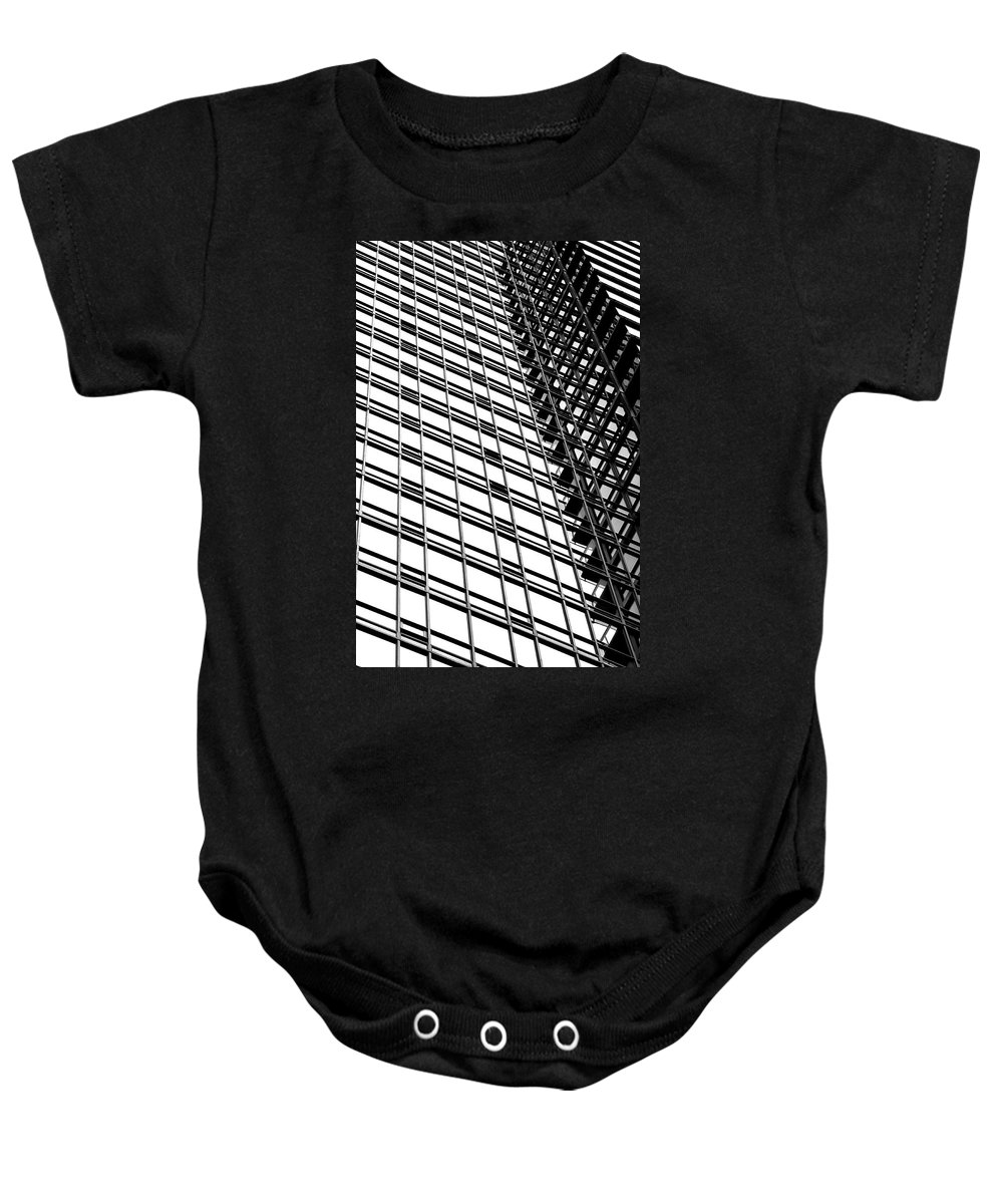 Modern Baby Onesie featuring the photograph Modern Condo Boosted by Valentino Visentini