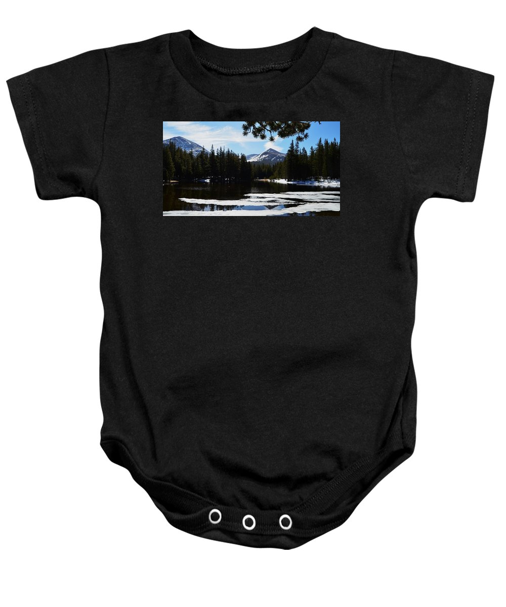 Yosemite Baby Onesie featuring the photograph Mountain Peak by See My Photos