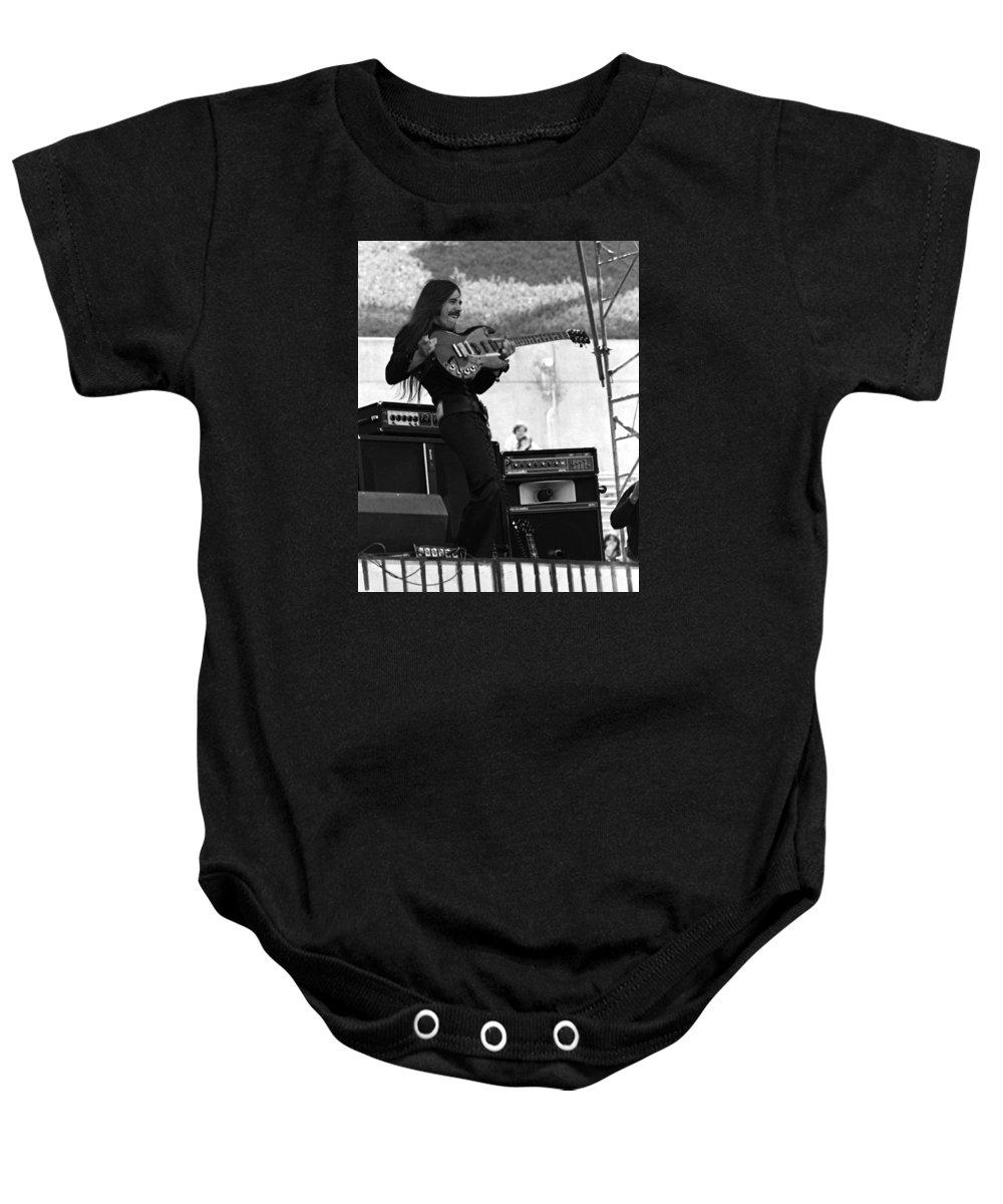 Frank Marino Baby Onesie featuring the photograph Mrdog #8 Crop 2 by Ben Upham