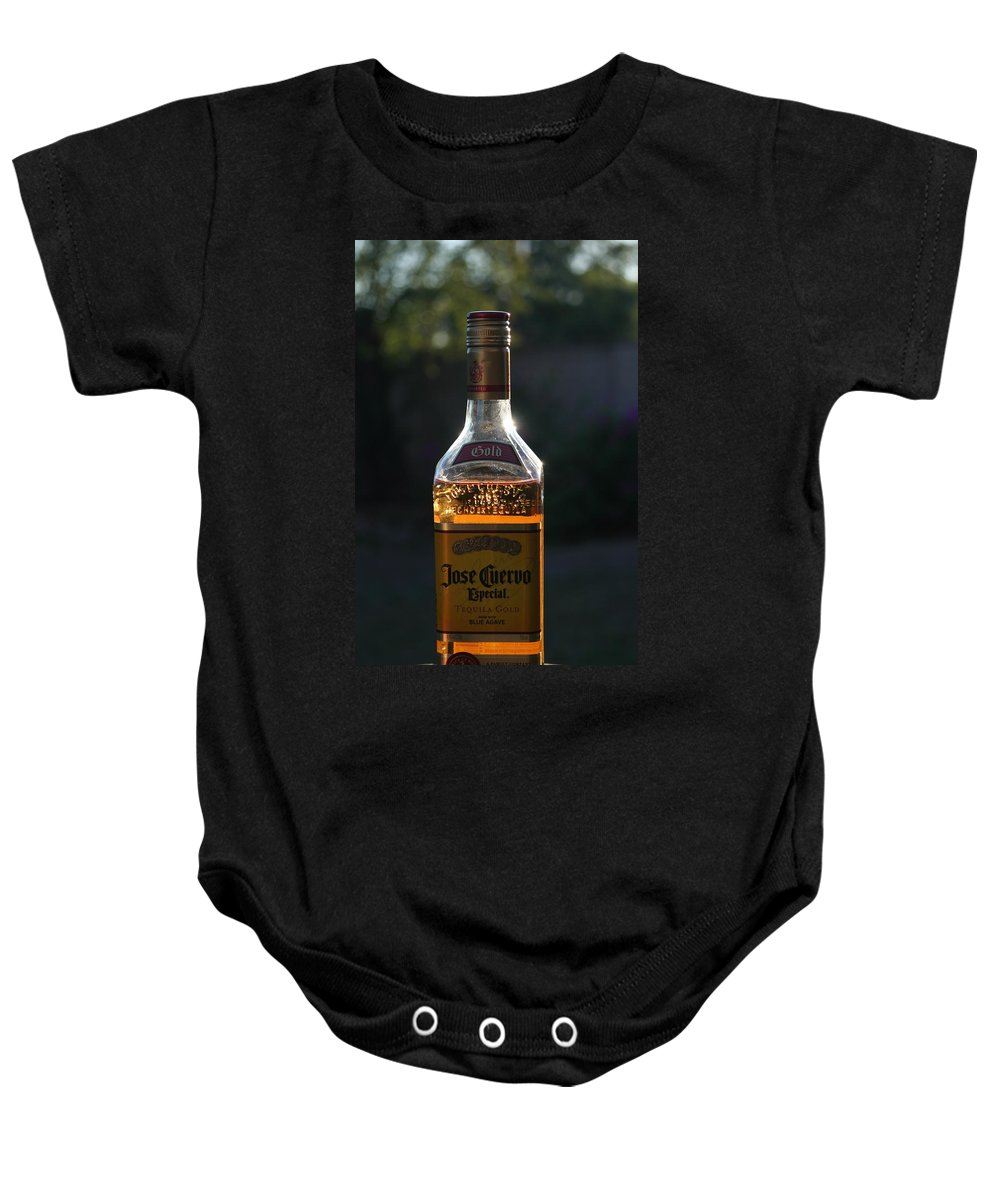 David S Reynolds Baby Onesie featuring the photograph My Friend Jose by David S Reynolds