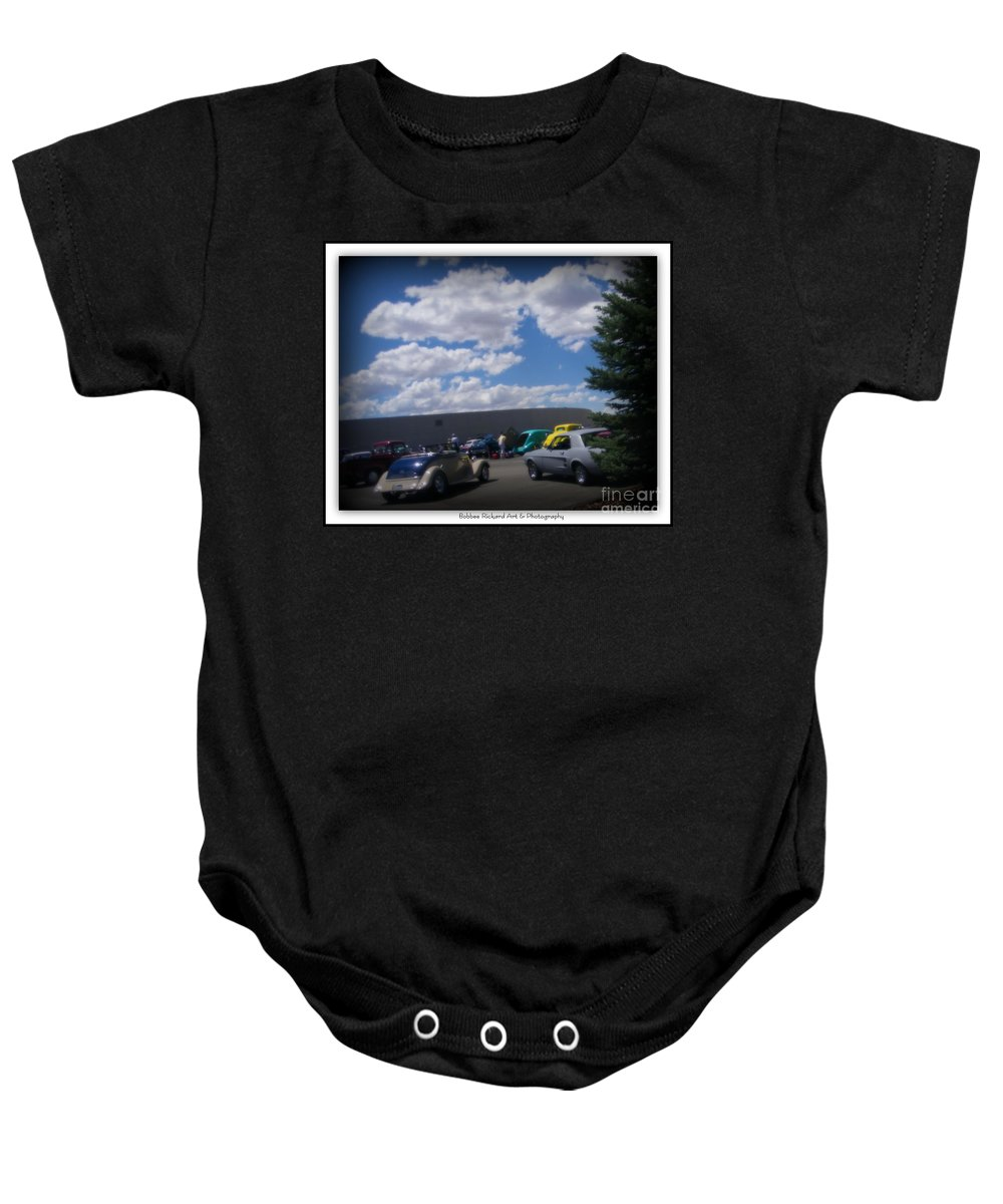 Prints On Canvas Baby Onesie featuring the photograph Nevada Blue Sky by Bobbee Rickard