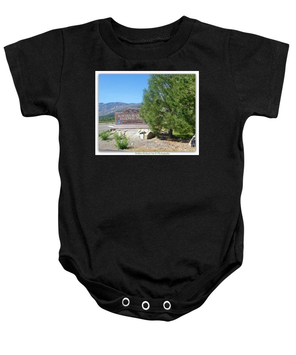Nevada Prints Baby Onesie featuring the photograph Nevada Landmark by Bobbee Rickard
