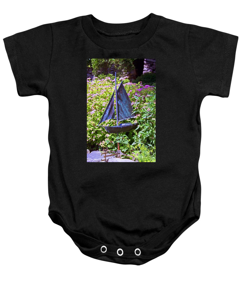 Sailboat Baby Onesie featuring the photograph New Directions by Joe Geraci