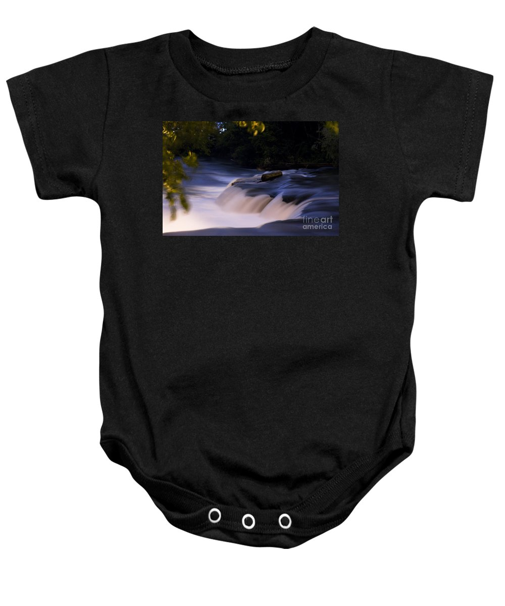 Baby Onesie featuring the photograph Niagara Falls Three by Sara Schroeder