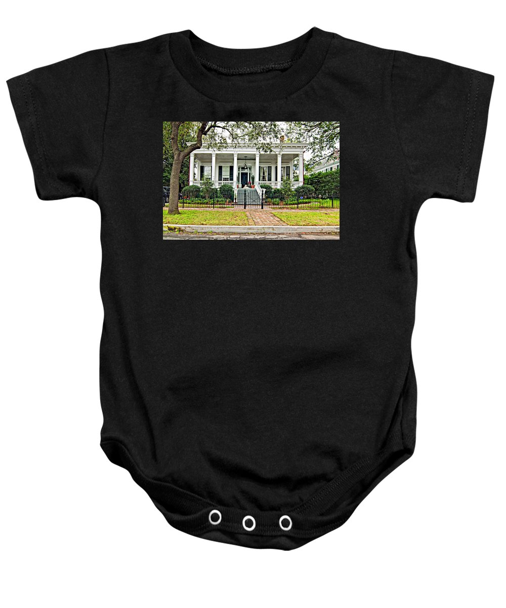 Mardi Gras Baby Onesie featuring the photograph On Guard In New Orleans by Steve Harrington