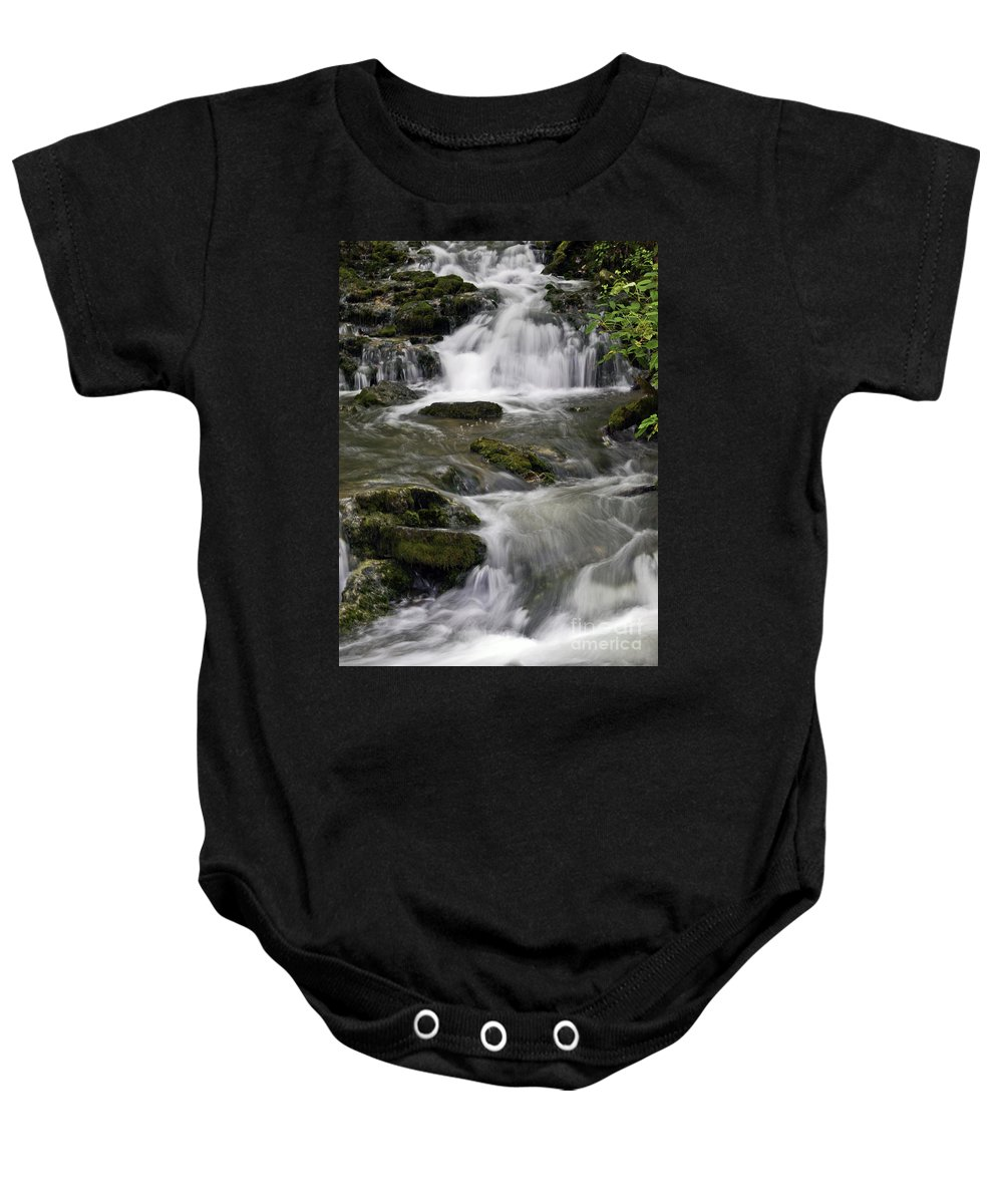 Rural Baby Onesie featuring the photograph One Step At A Time by Ken Frischkorn