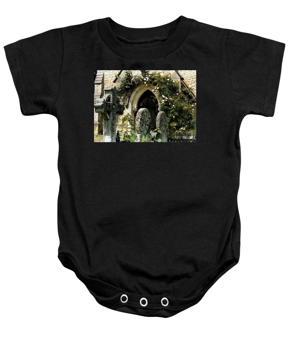 Door Baby Onesie featuring the photograph Open Paths II by Christine Jepsen