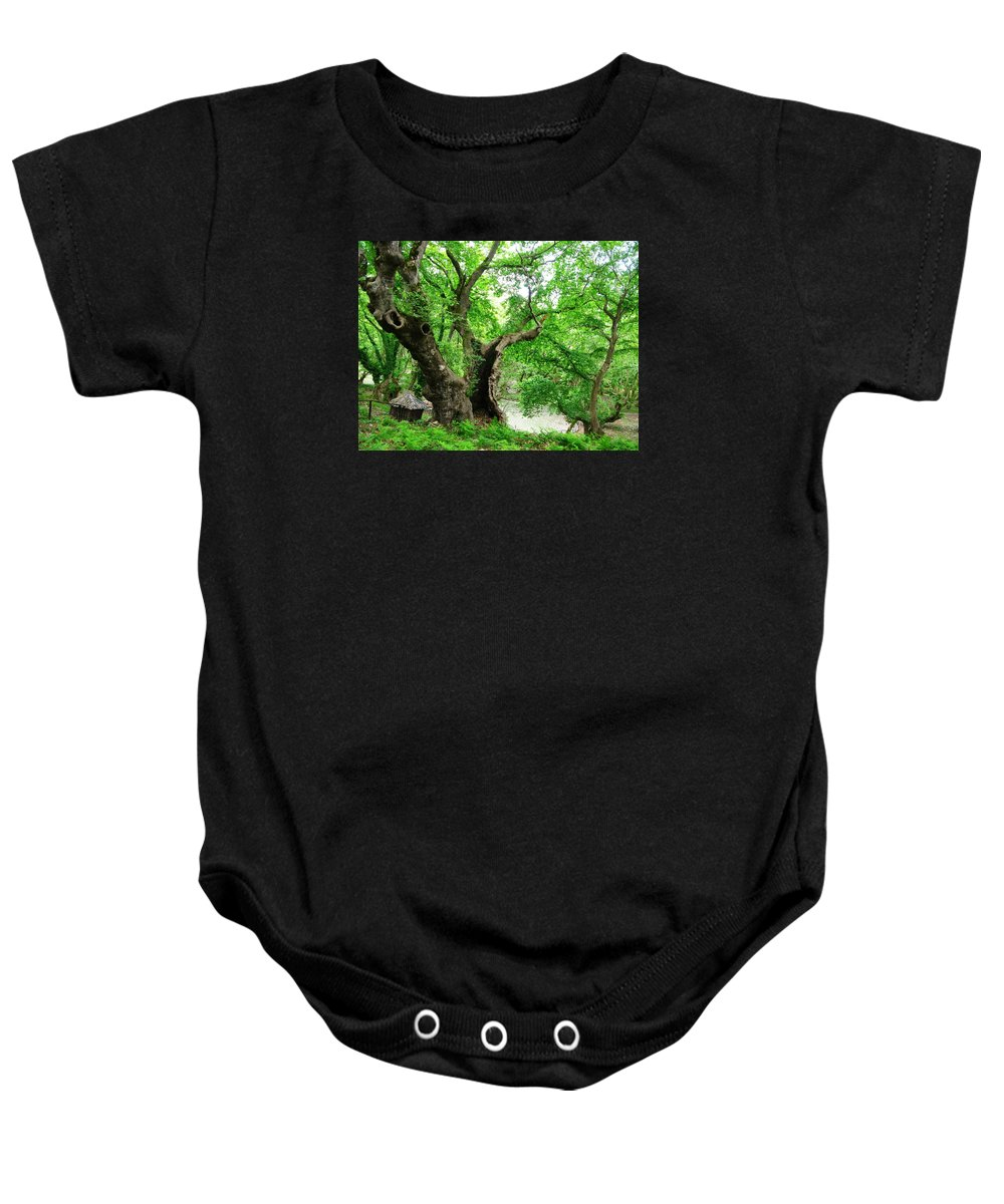 Baby Onesie featuring the photograph Orpheus Planes by Andonis Katanos