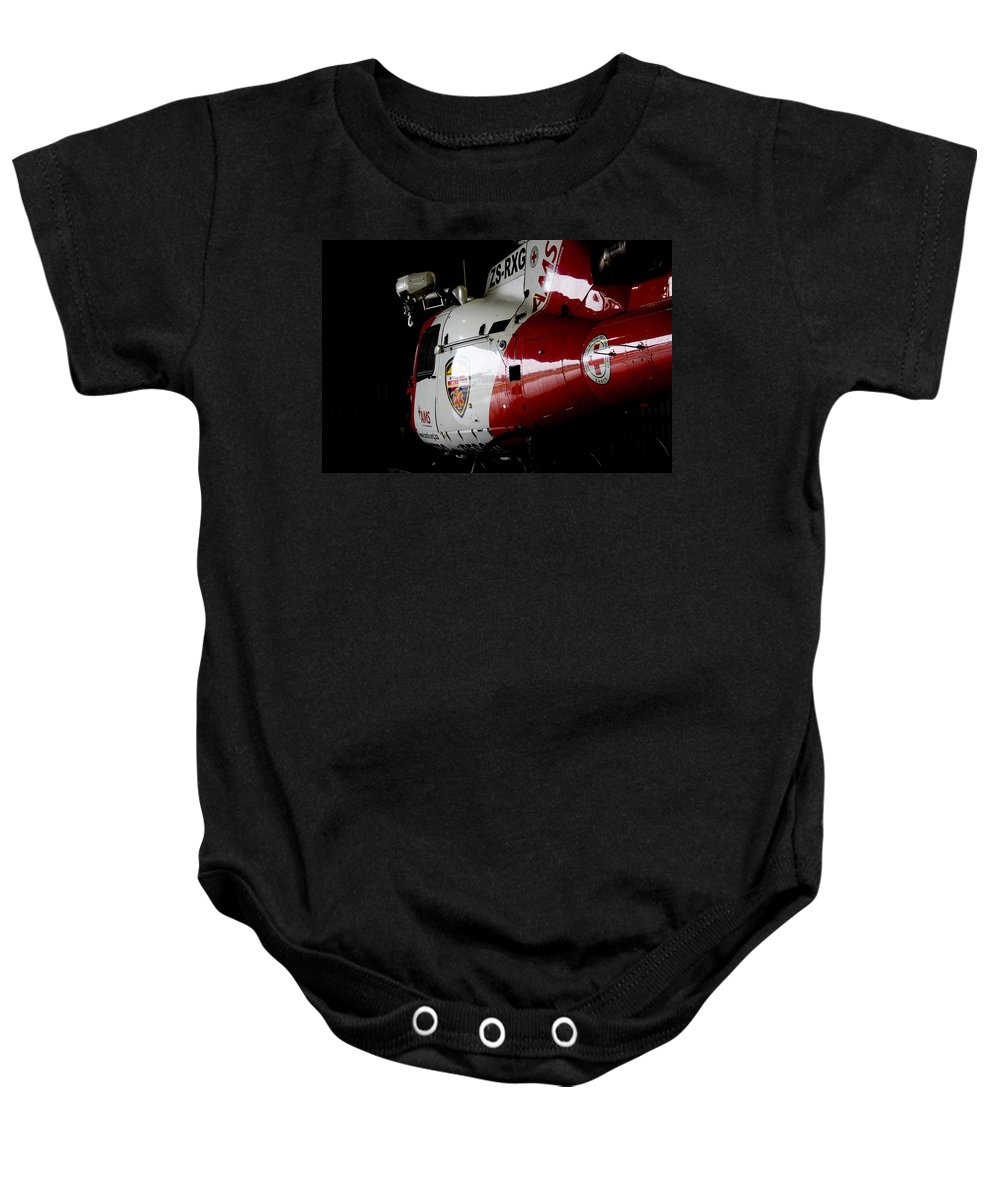 Ams Baby Onesie featuring the photograph Parked by Paul Job