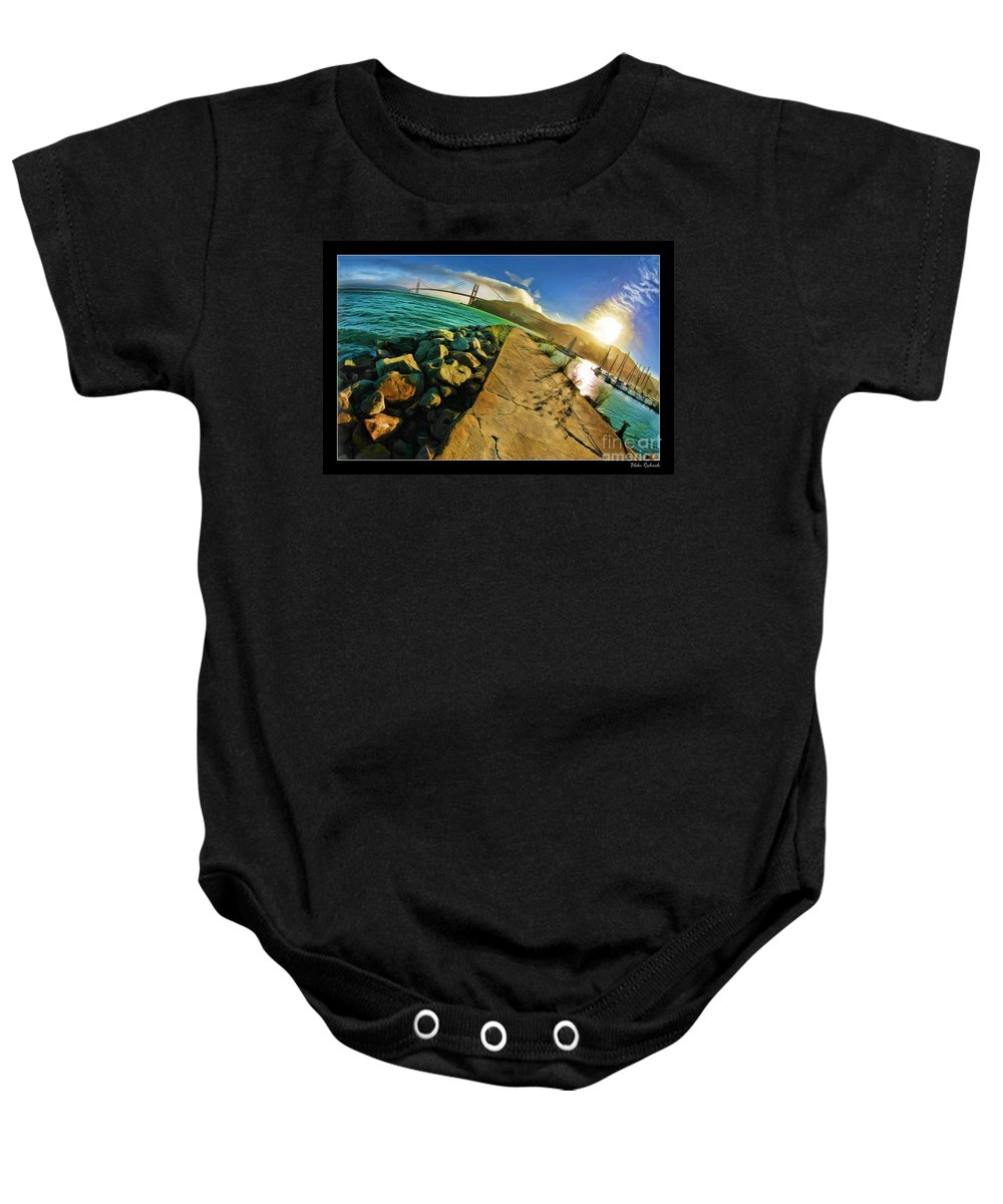 Golden Gate Bridge Baby Onesie featuring the photograph Path To The Golden Gate by Blake Richards