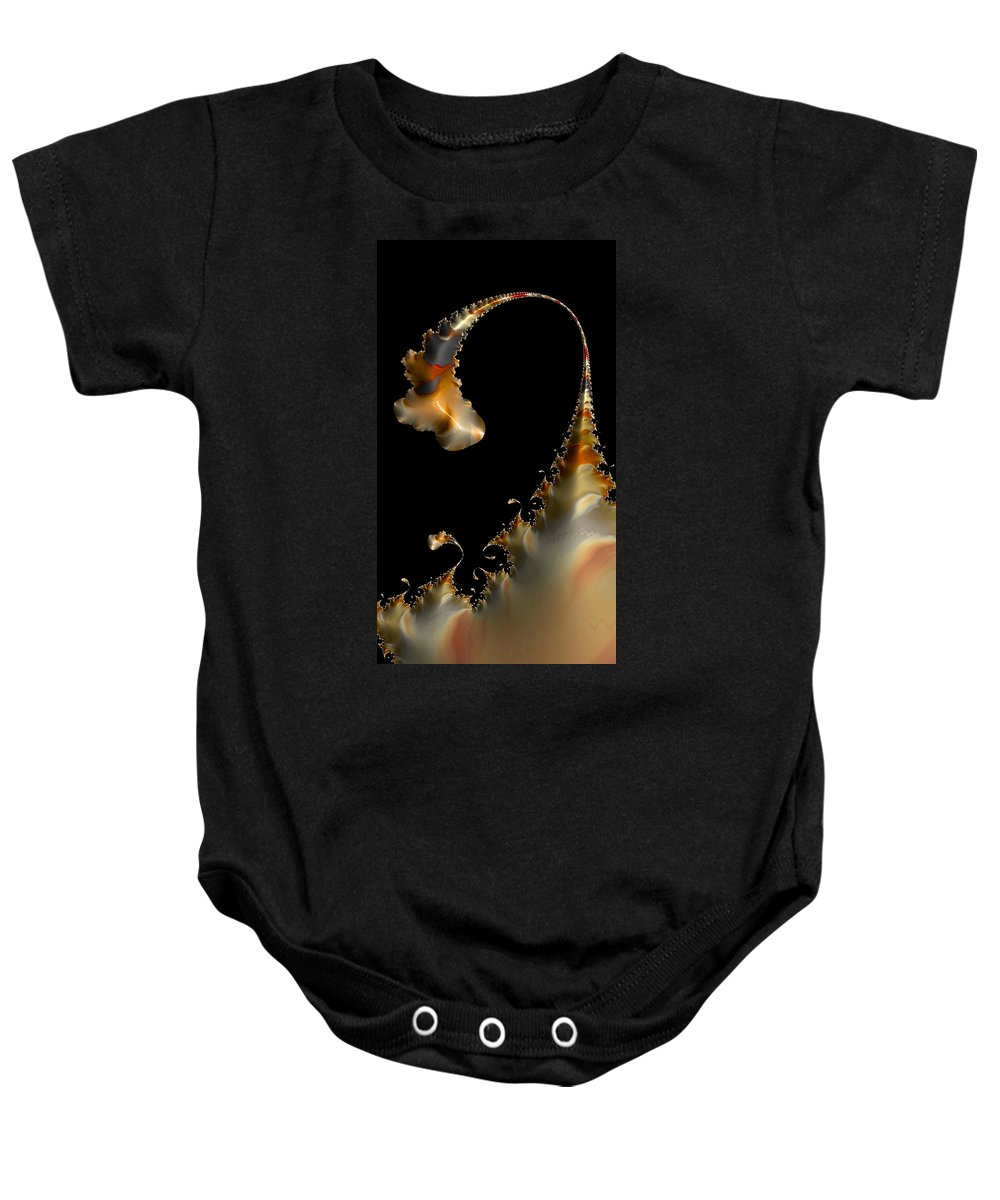 Fractal Art Baby Onesie featuring the photograph Peninsula - Cards And Phone Cases by Bill Owen