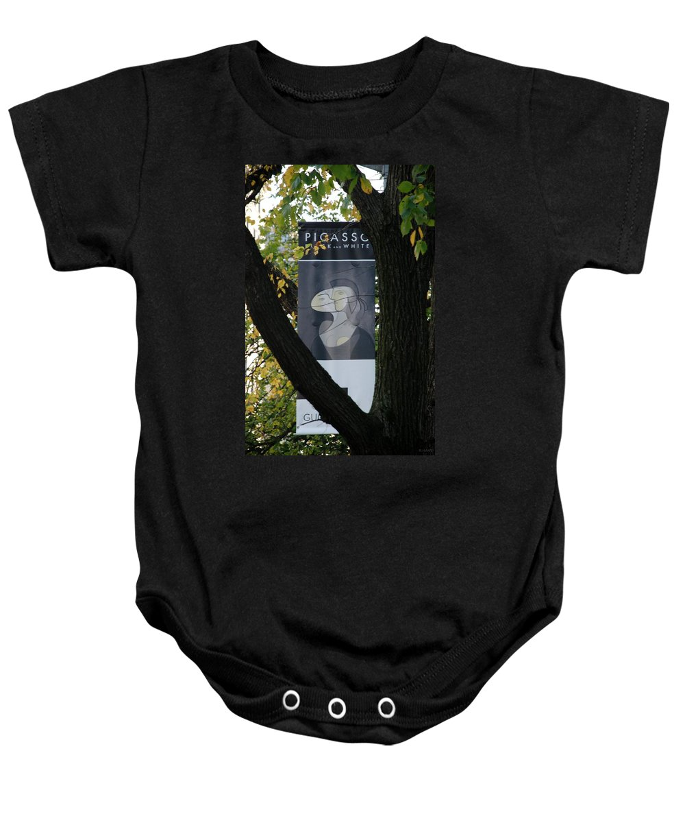 Scenic Baby Onesie featuring the photograph Picasso by Rob Hans