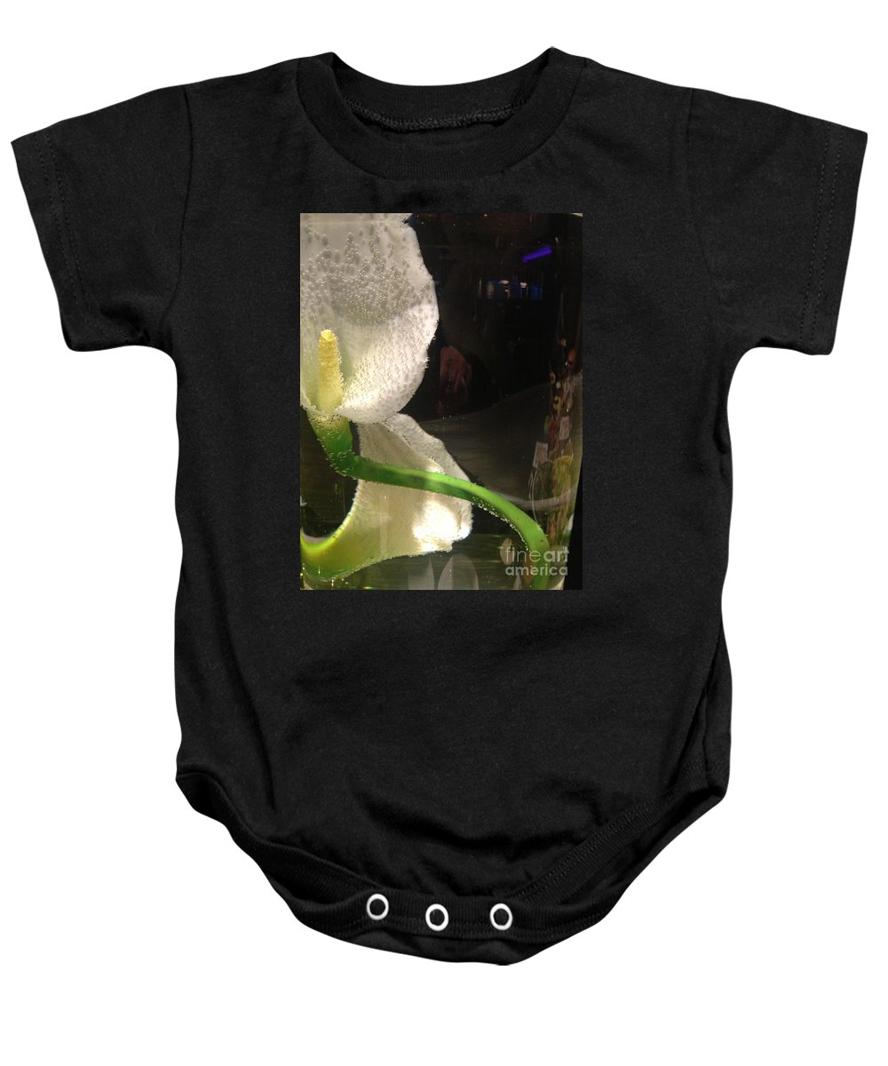 Cala Lilly Baby Onesie featuring the photograph Pickeled by Joseph Yarbrough