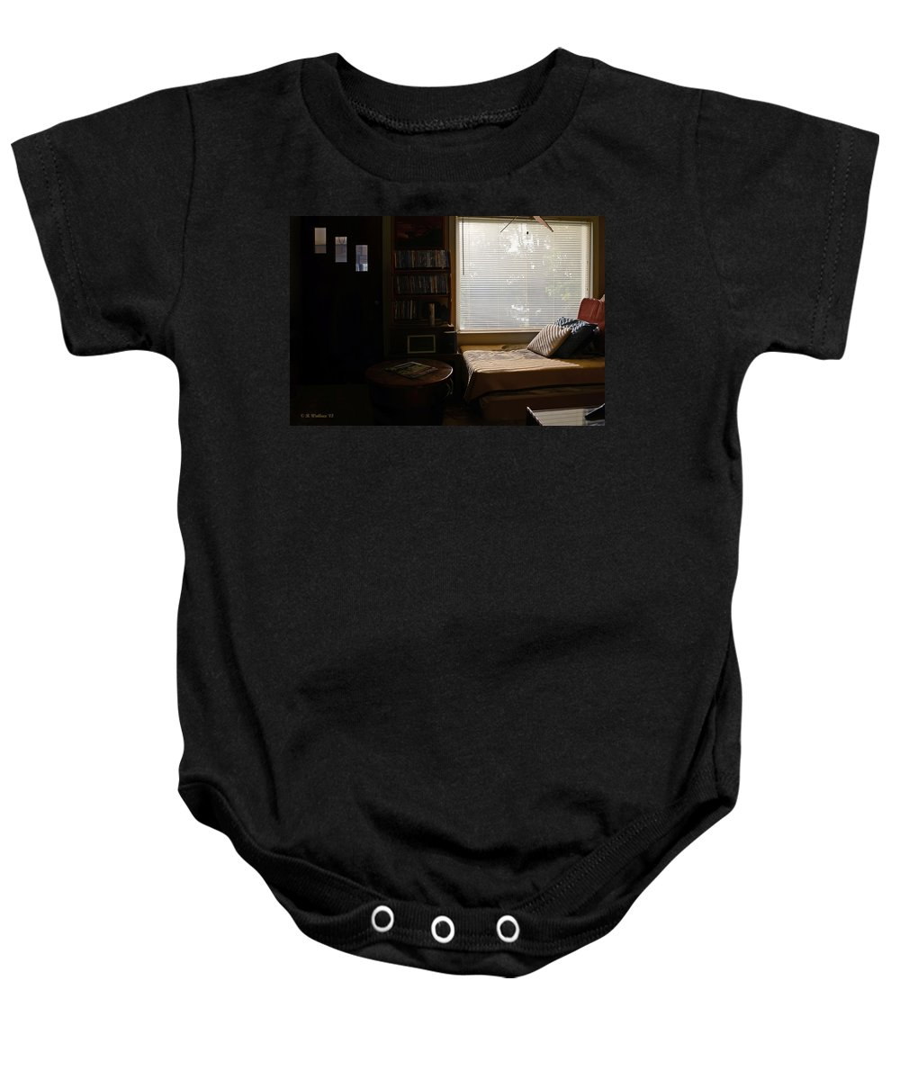 2d Baby Onesie featuring the photograph Picture Window by Brian Wallace
