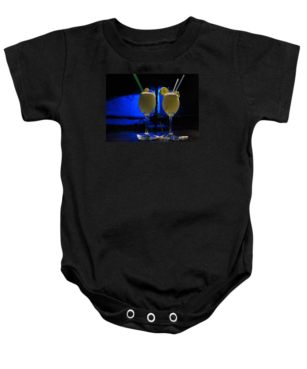 Pisco Baby Onesie featuring the photograph Pisco Sour In Puno by RicardMN Photography