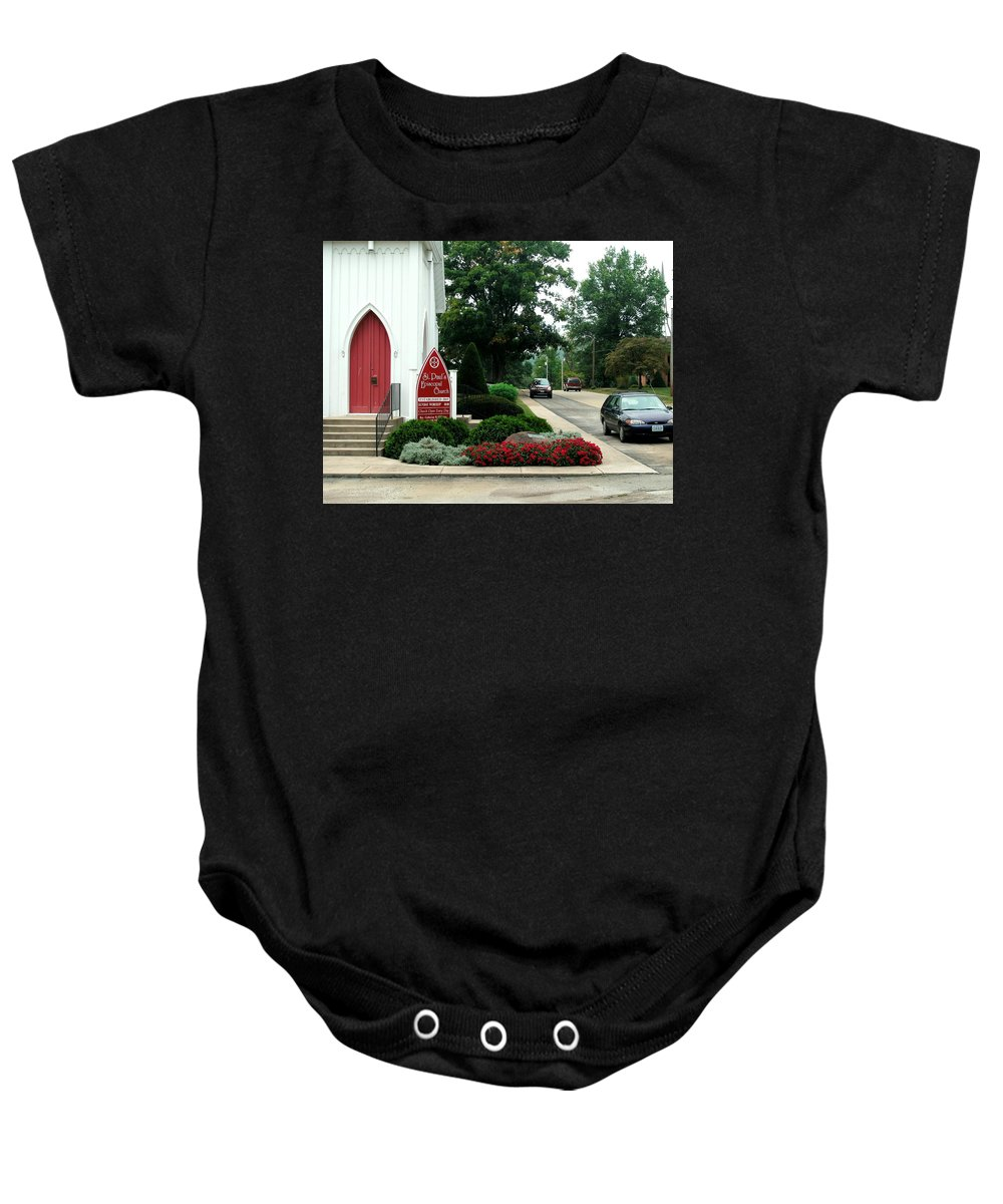 Points Of View Baby Onesie featuring the photograph Points Of View by Kip DeVore