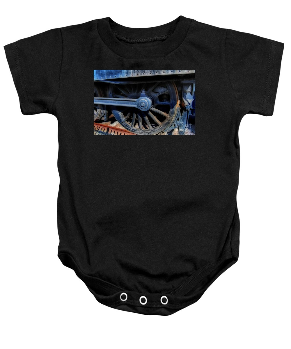 Scenic Tours Baby Onesie featuring the photograph Power by Skip Willits
