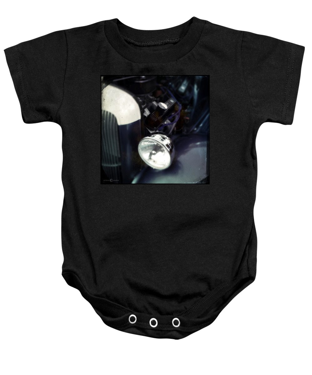 Classic Baby Onesie featuring the photograph Powerhouse by Tim Nyberg