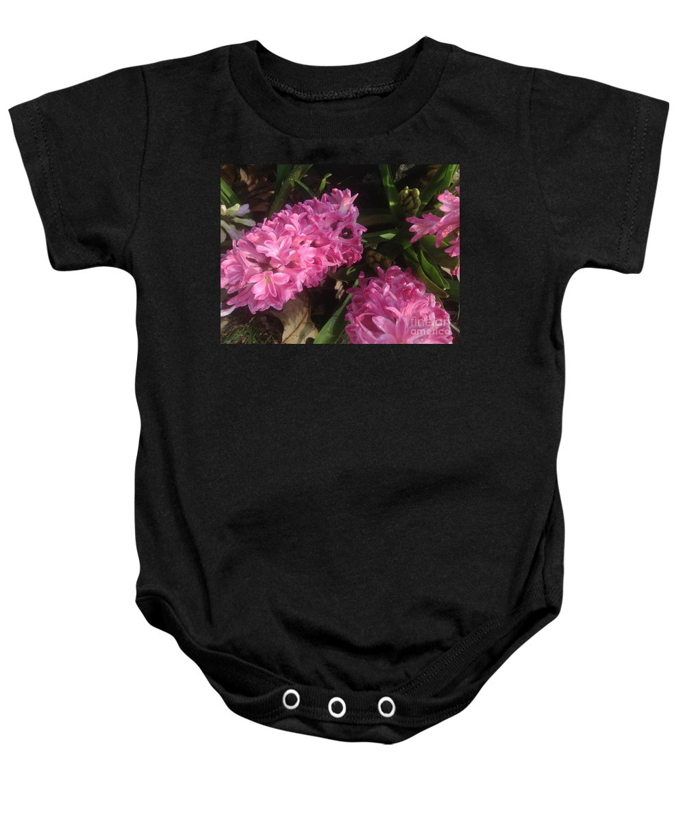 Flowers Baby Onesie featuring the photograph Professional Fleet by Joseph Yarbrough