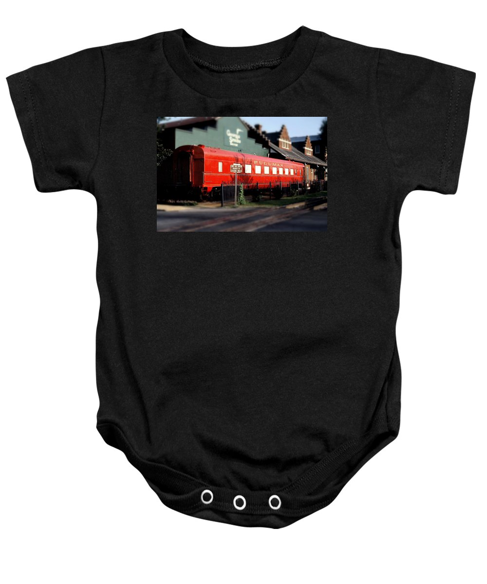 Fine Art Baby Onesie featuring the photograph Pullman by Rodney Lee Williams