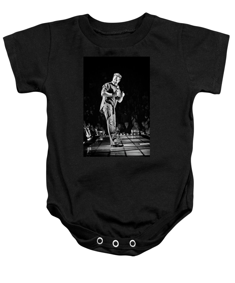Rascal Flatts Baby Onesie featuring the photograph Rascal Flatts 5030 by Timothy Bischoff