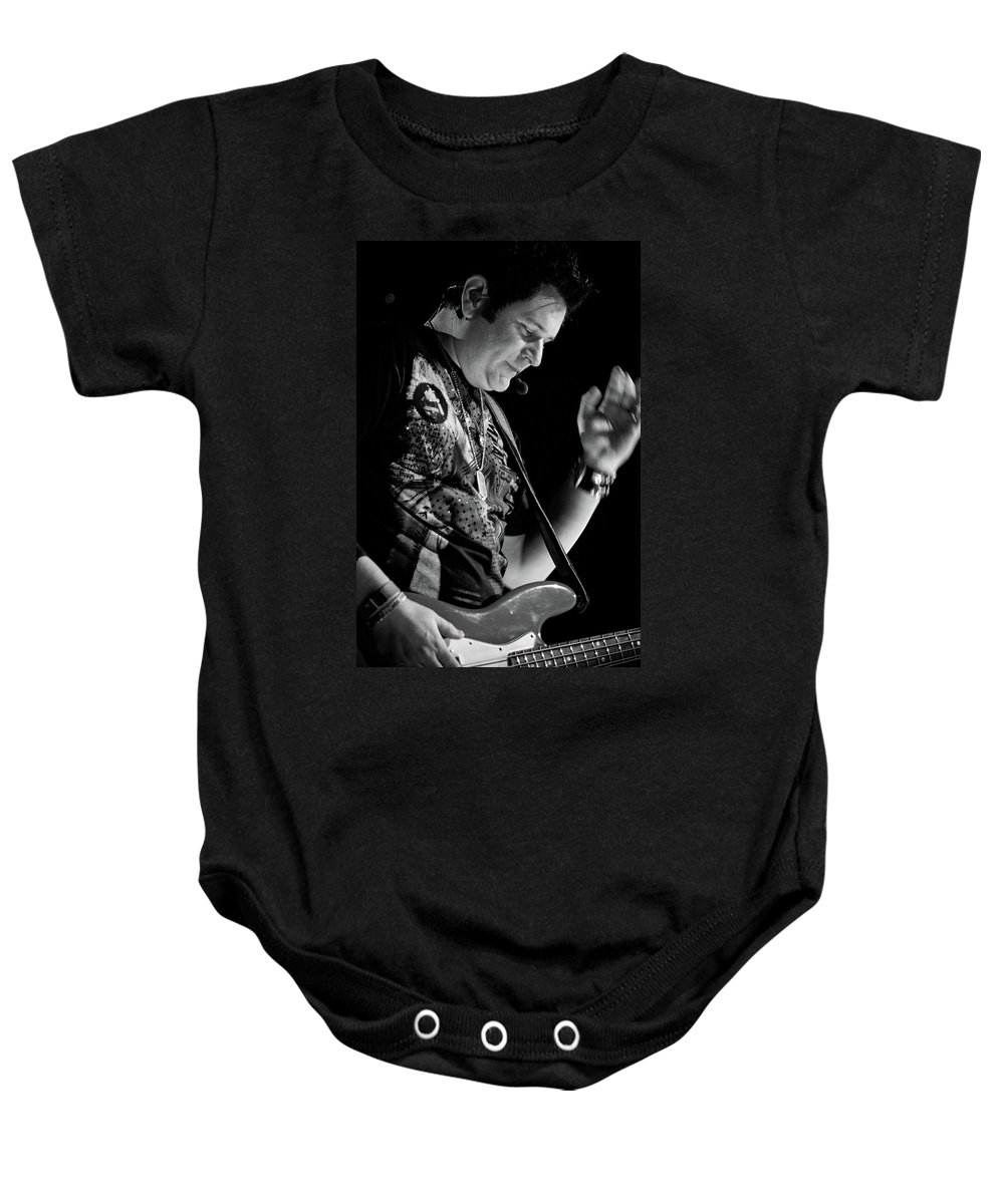 Rascal Flatts Baby Onesie featuring the photograph Rascal Flatts 5136 by Timothy Bischoff