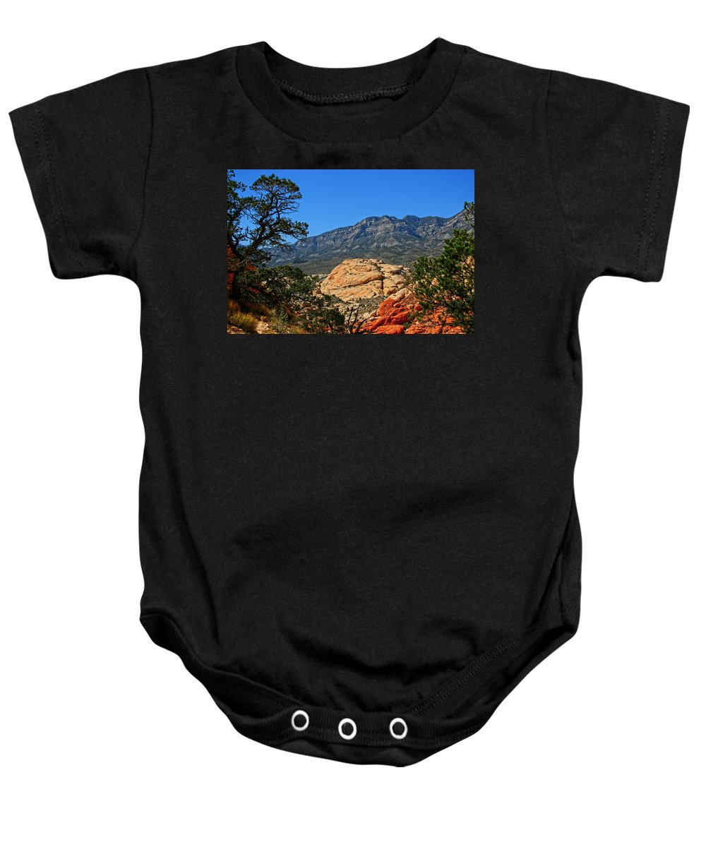 Red Rock Canyon Baby Onesie featuring the photograph Red Rock Canyon 4 by Chris Brannen