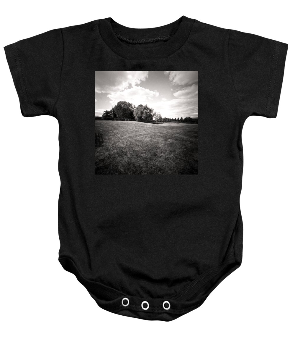 Hills Baby Onesie featuring the photograph Rolling Hills by Jean Macaluso