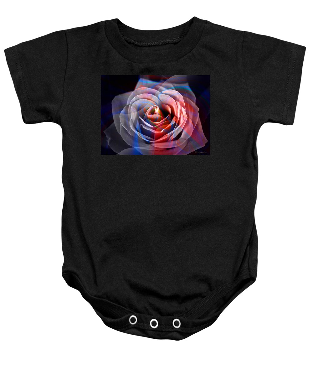 Roses Baby Onesie featuring the photograph Rosica 2 by Mark Ashkenazi