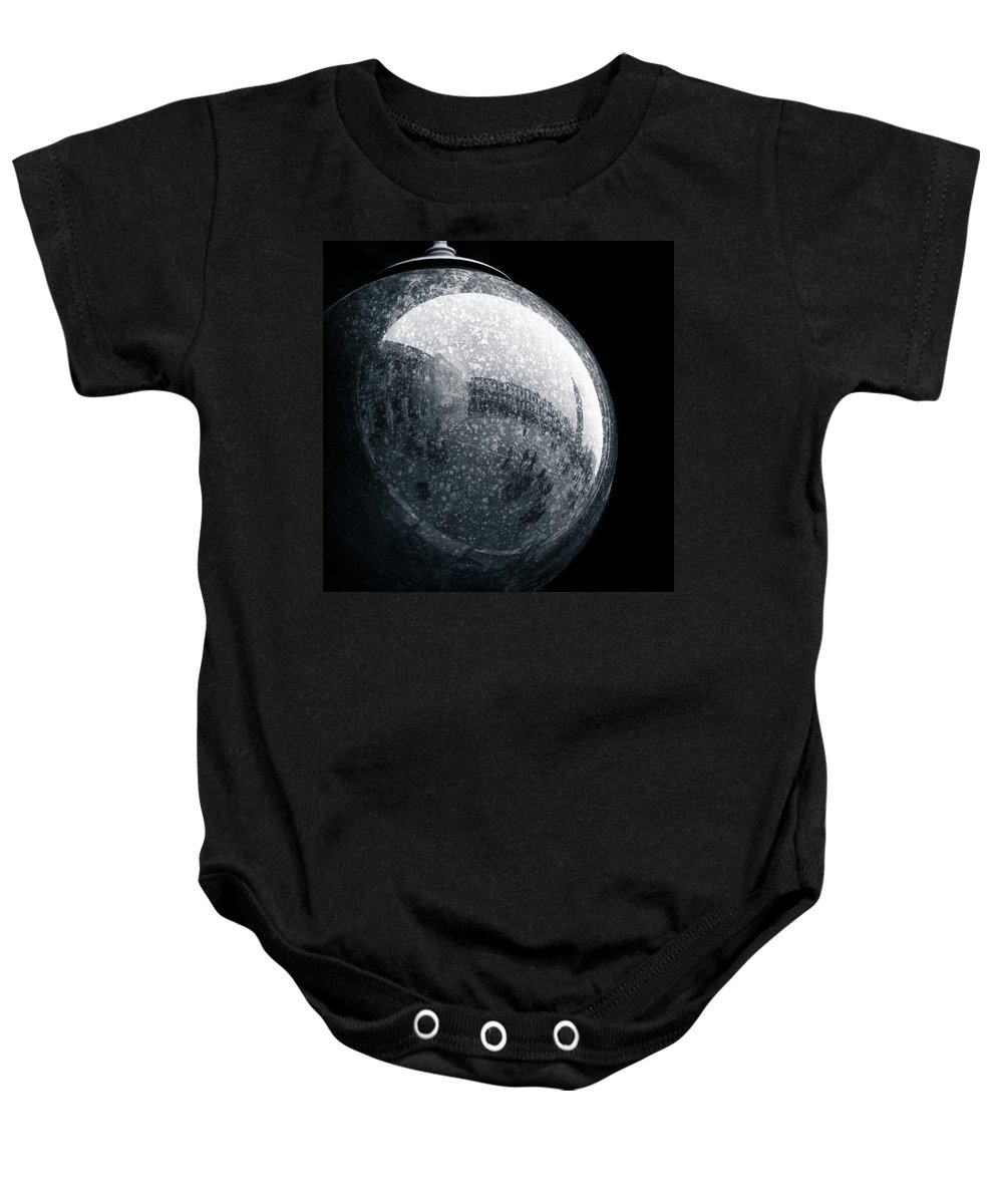 Piazza San Marco Baby Onesie featuring the photograph San Marco Orb by Dave Bowman