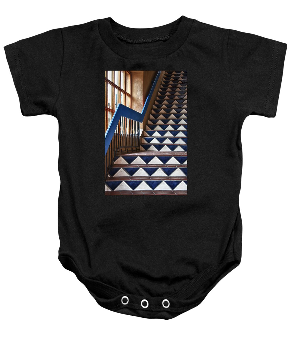 Sant Fe Nm Baby Onesie featuring the photograph Santa Fe Nm 3 by Ron White