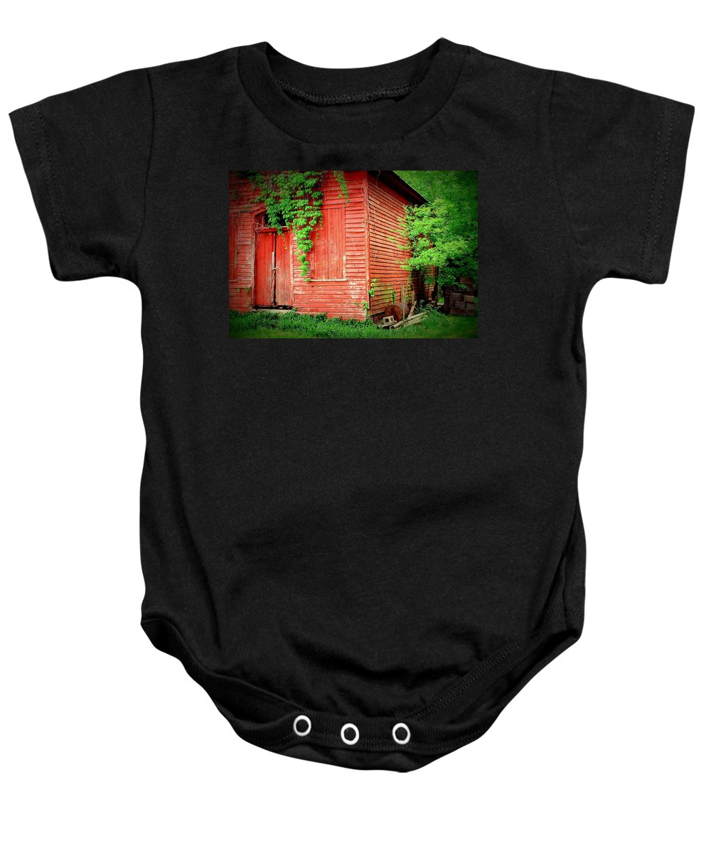 Fine Art Baby Onesie featuring the photograph Secrets 2 by Rodney Lee Williams