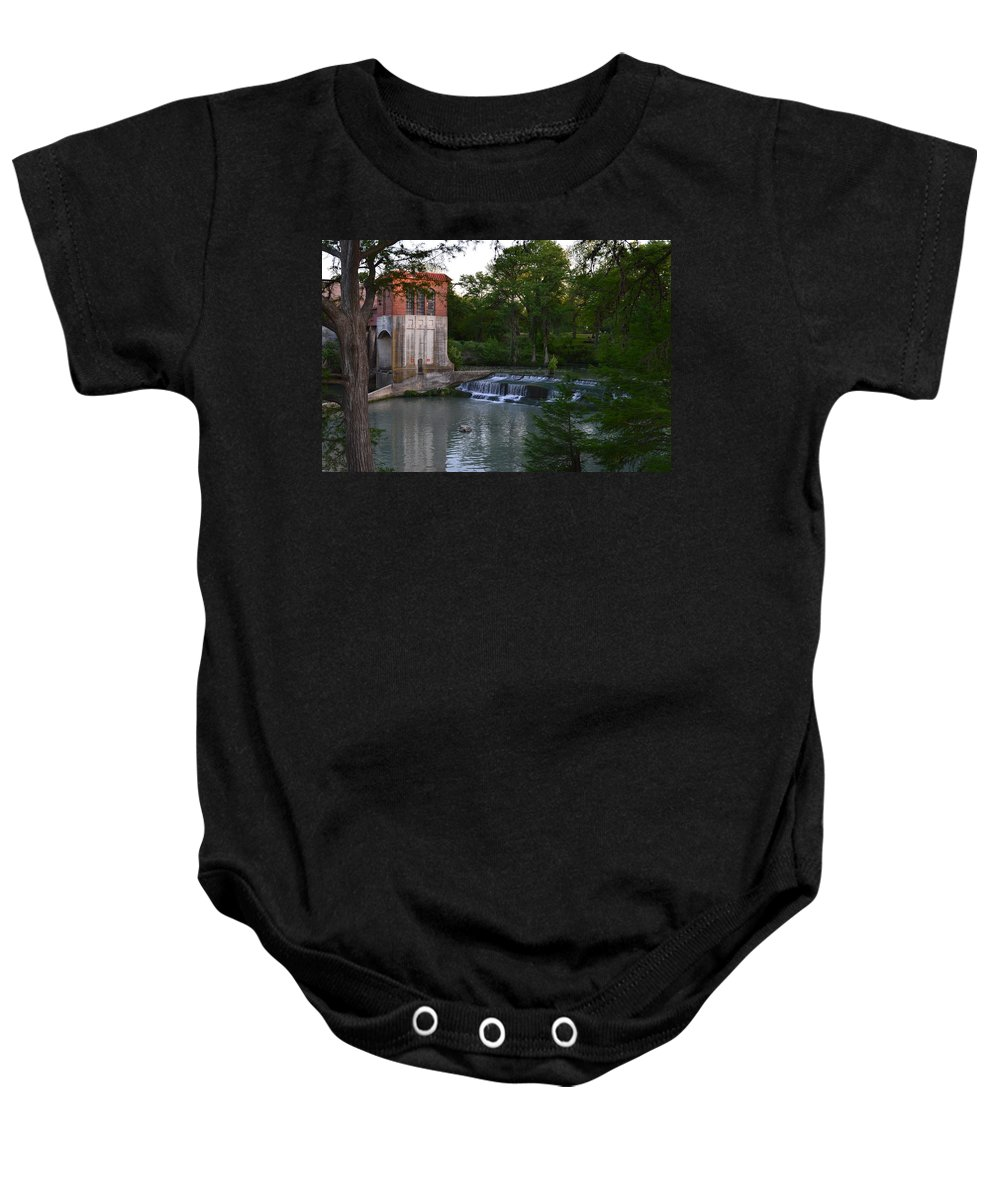 Architectur Baby Onesie featuring the photograph Seguin Tx 03 by Shawn Marlow