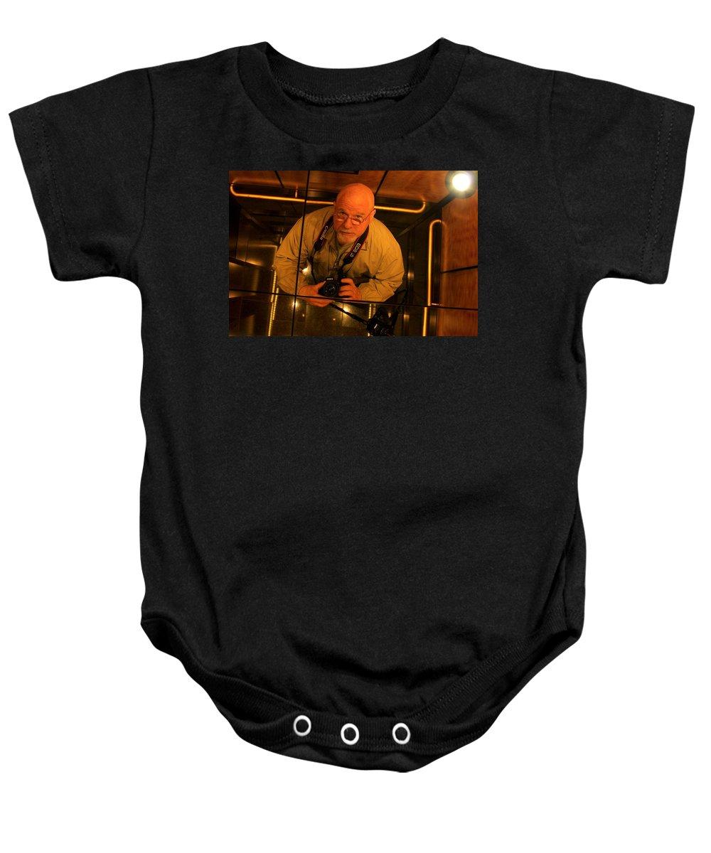 Reid Callaway Baby Onesie featuring the photograph Self Portrait by Reid Callaway