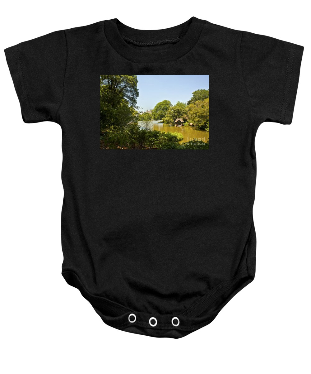 Pond Baby Onesie featuring the photograph Serenity II by Madeline Ellis